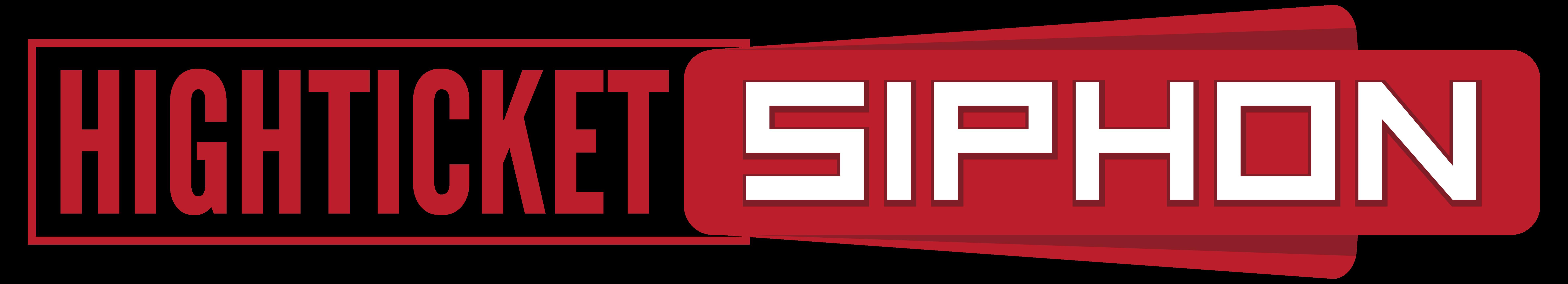high ticket siphon logo